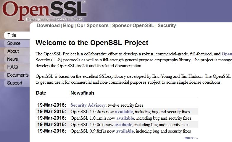 openssl download source